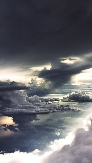 The Sky from an Airplane