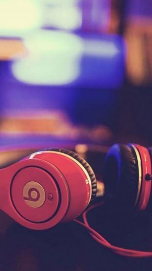 Red Beats Headphones