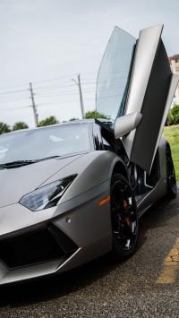 Lamborghini Aventador Space Gray