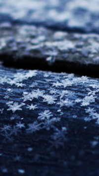 Snowflakes on the Roof