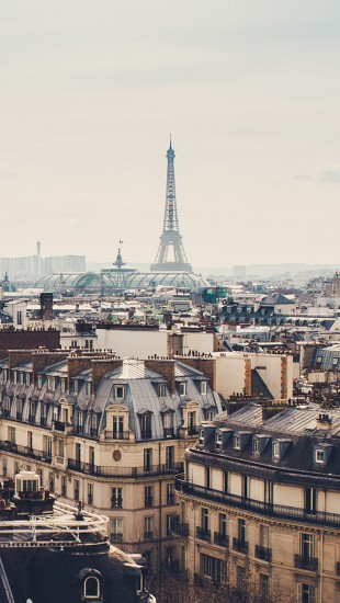 Beautiful Paris cityscape