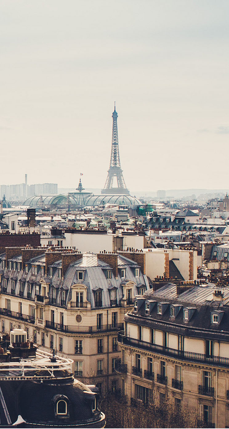 Beautiful Paris Cityscape The Iphone Wallpapers