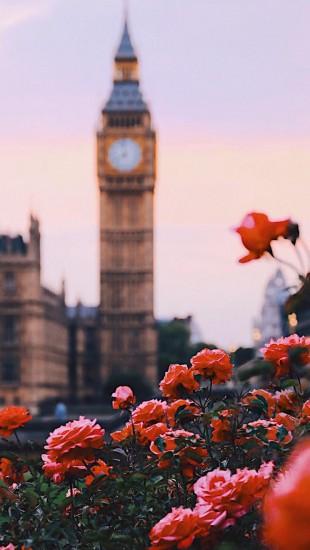 Spring time in London